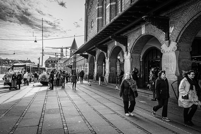 Central Station Copenhagen.