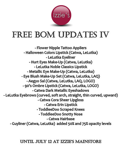 Free BOM Updates IV