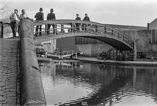 Bridge, Regents Canal, Camden, 1987 87-3a-34-positive_2400