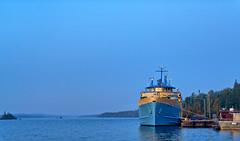 Ranger III Ferry Boat at Rock Harbor - Isle Royale