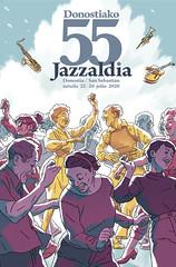 Cartel Jazzaldia Kartela