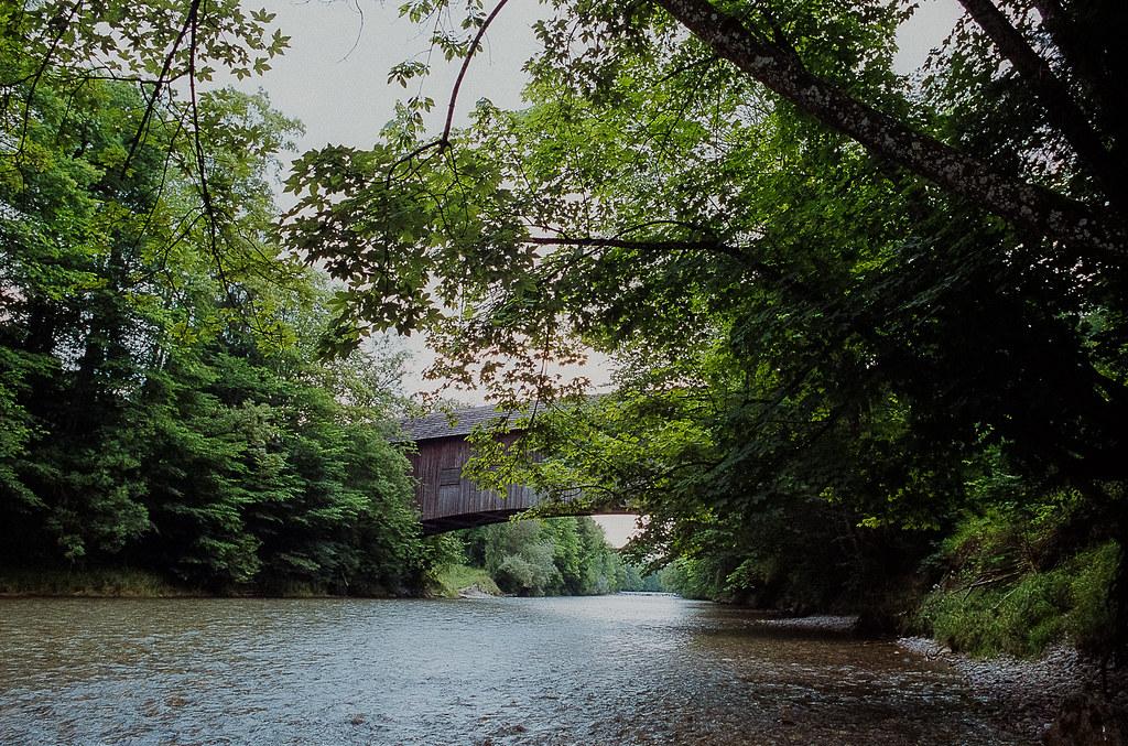 Gedeckte Holzbrücke von Hasle-Rüegsau