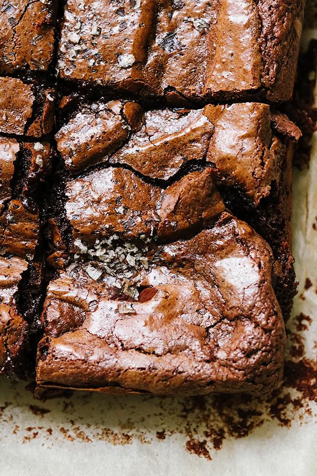 Rye Chocolate Brownies