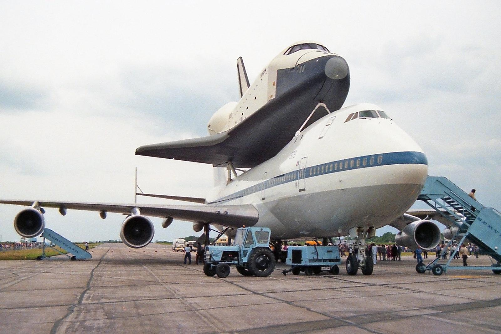 N905NA + Shuttle Enterprise (STN/EGSS)