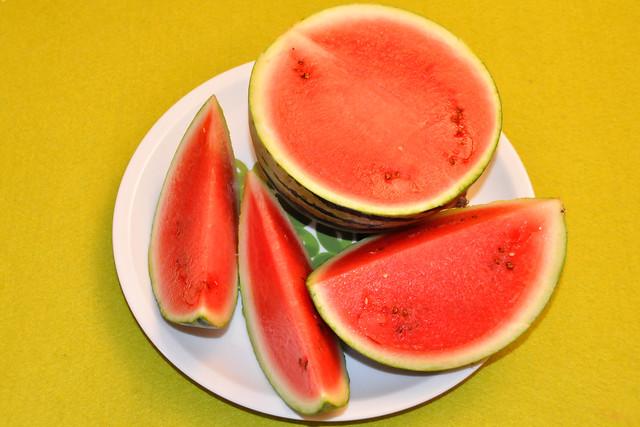 Kühle Wassermelone für warme Tage ... Brigitte Stolle