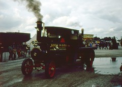 """wdw1998 posted a photo:""""Pride of Burley"""" built 1914 seen at Haydock Park Steam Rally on 13th July 1980"""