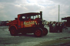 """wdw1998 posted a photo:""""Elizabeth"""" built 1928 seen in Lea family ownership days at Haydock Park Steam Rally 13th July 1980"""