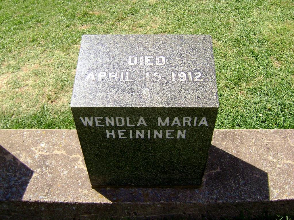 Halifax - Fairview Lawn Cemetery - Titanic Graves