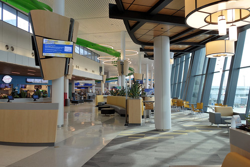 ROC Greater Rochester International Airport west atrium expansion 2020 3-11