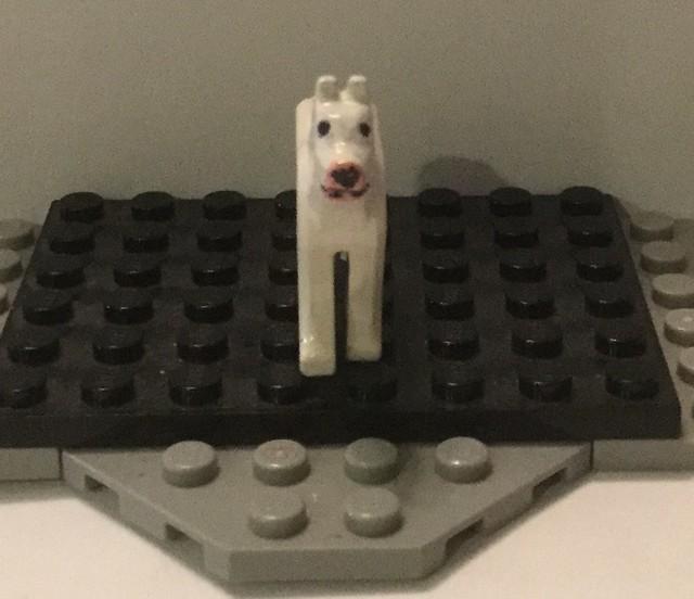 Lego Custom: Nelson/Walter the Bull Terrier