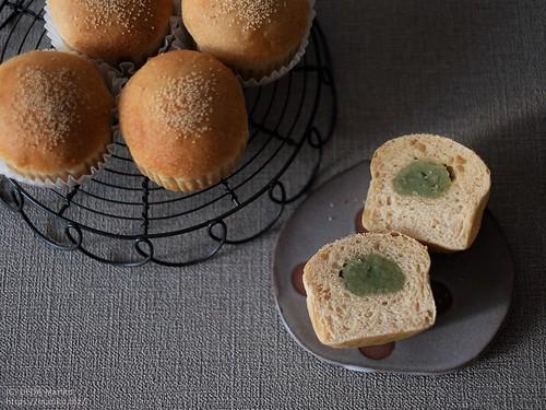 梅酵母のずんだあんパン 20200702-DSCT9364 (2)