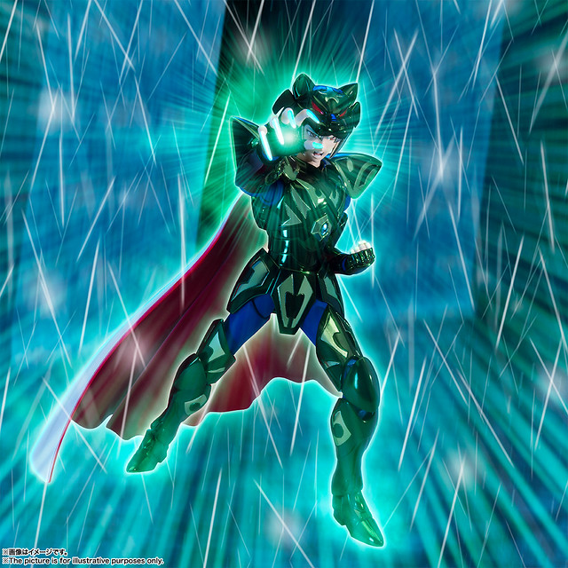 來自北歐的暗黑猛虎!聖闘士聖衣神話EX《聖鬪士星矢》Zeta 開陽星黑虎希度(ゼータ星ミザールシド)