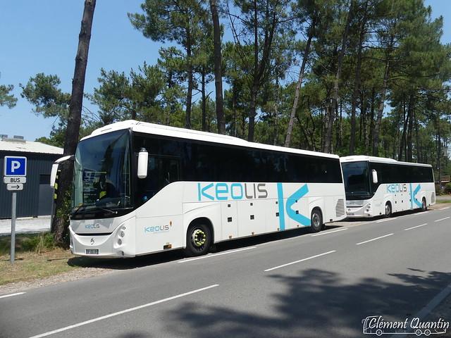 IRISBUS Evadys HD - 078011 et 086035 / Keolis Cars de Bordeaux