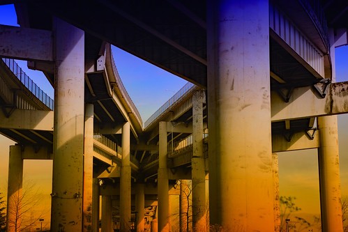 ian sane images fourarteriestotheheart marquam bridge freeway interstate five ramps portland oregon urban photography filters canon eos 5ds r camera ef24105mm f4l is ii usm lens