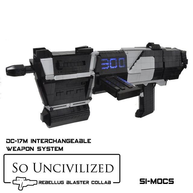 DC17m - Republic Commando Blaster
