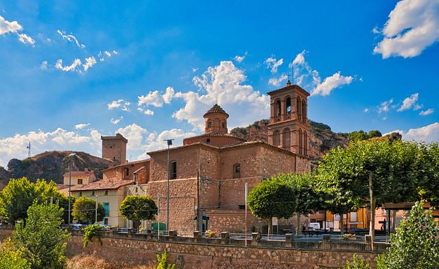 Alhama de Aragón - Iglesia de la Natividad de la Virgen