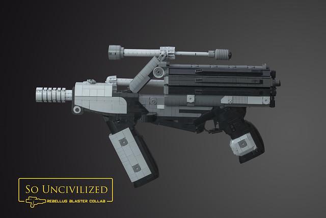 LEGO CR-2 Heavy Blaster Pistol - So Uncivilized RebelLUG Blaster Collaboration