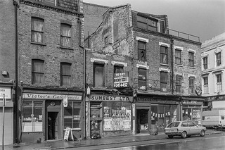 Old St,  Shoreditch, Hackney, 1987