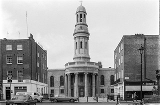 St Mary's Church, Wyndham Place, Marylebone, Westminster, 1987