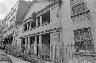The Christian Union Almshouses, Crawford Place, Paddington, Westminster, 1987  87-3c-26-positive_2400