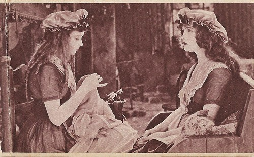 Lilian and Dorothy Gish in Orphans of the Storm (1921)
