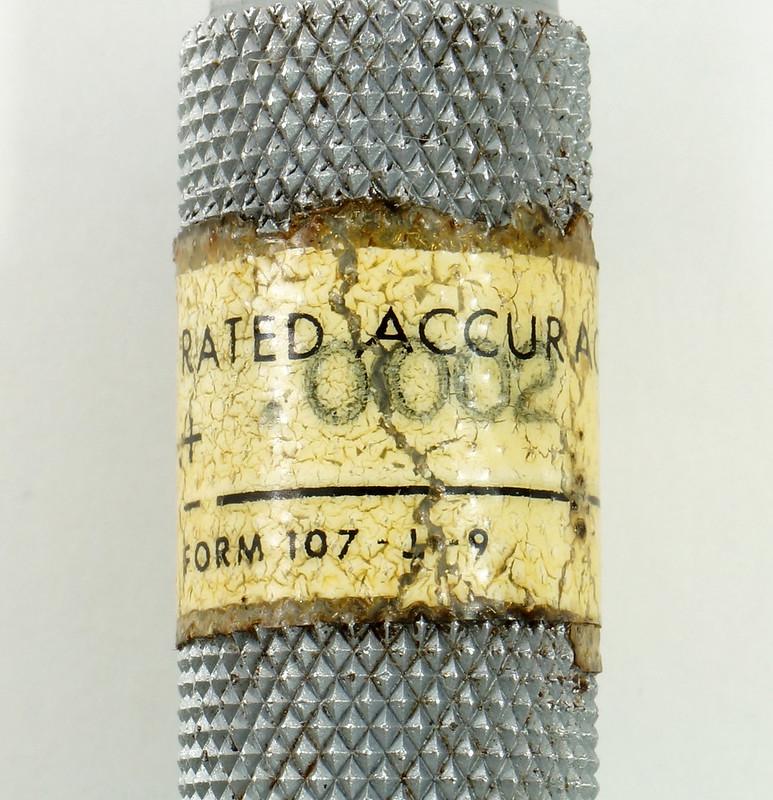 RD30619 Brown & Sharpe Internal Micrometer .5-.6 inch Range 1div=.0002 inch DSC08729