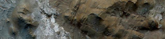Mars - Jumbled Terrain in Ius Chasma