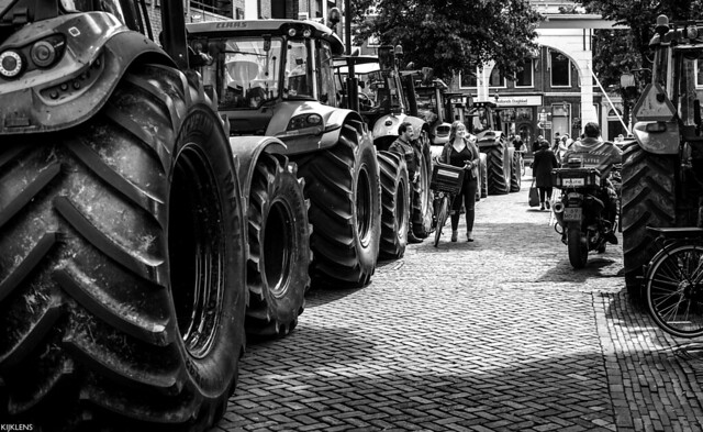 Dutch Farmers Protest