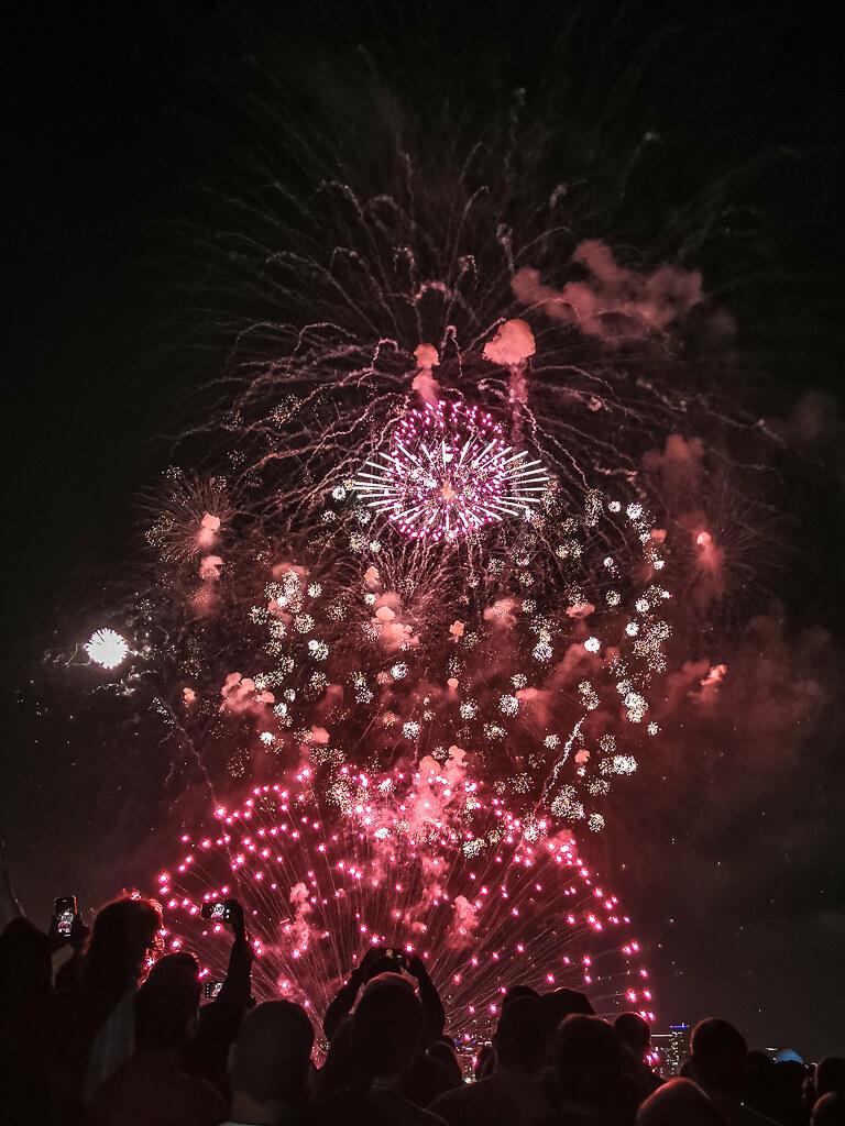 Fireworks Gas Works Park