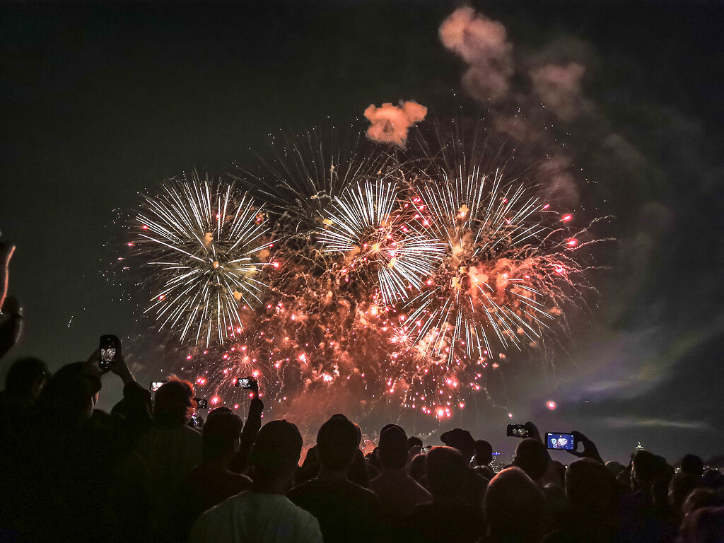 Fireworks Gas Works Park 2019