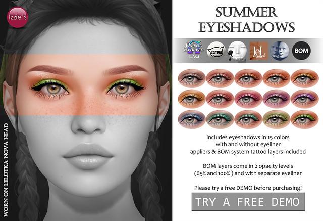 Summer Eyeshadows (TLC)