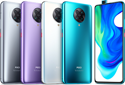 Priced at S$899, the POCO F2 Pro ships with the Snapdragon 865 Mobile Platform offering sustained peak performance, fast processing speeds, and a full-screen viewing experience.