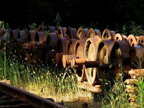 rust ironoxide age patina corrosion narrowgauge nevadacounty goldcountry