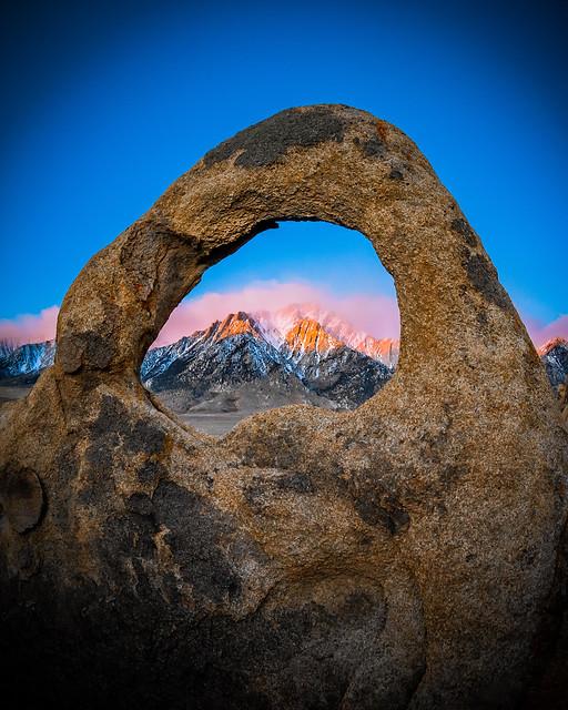 Whitney Portal Arch & Lone Pine Peak