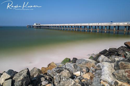 2020 beach india january january2020 kerala landscape nature nikkor1424mm nikon nikond850 rvk rvkphotography raghukumar raghukumarphotography seascape southindia trivandrum valiathuraseabridge wideangle wideangleimages rvkonlinecom rvkphotographycom rvkphotographyin rvkphotographynet