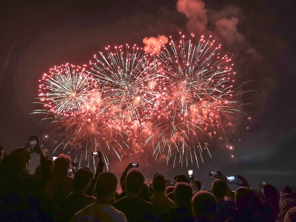 Fireworks Gas Works Park on July 4th