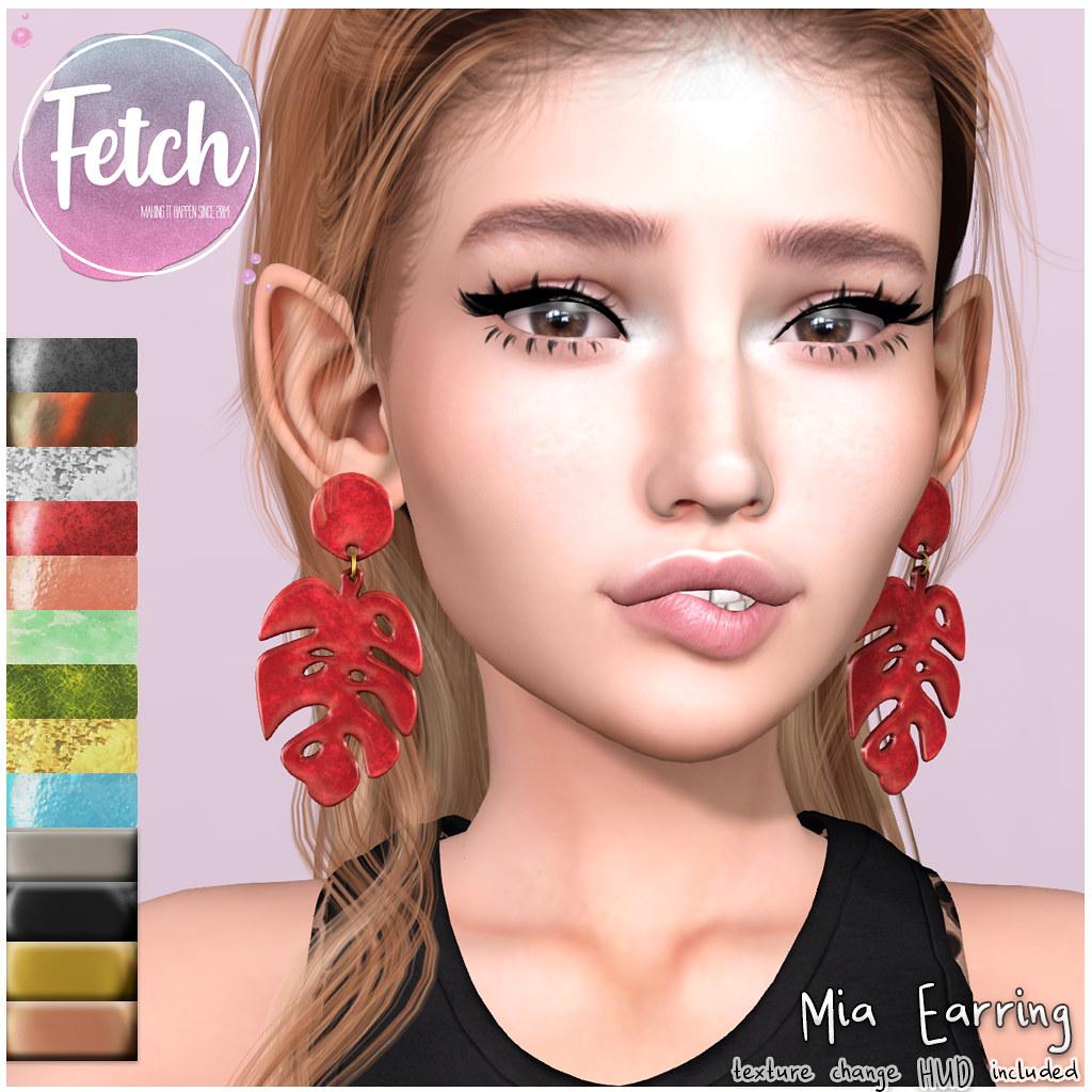 [Fetch] Mia Earrings @ Saturday Sale!