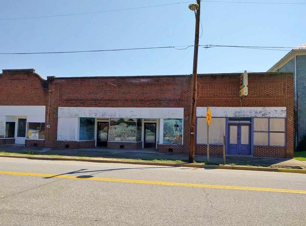 Abandoned Downtown Burkeville, VA