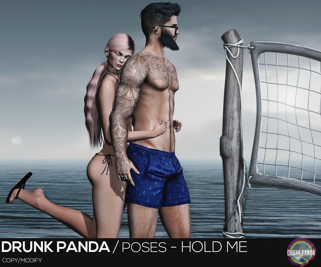 Drunk Panda / Poses – HoldMe
