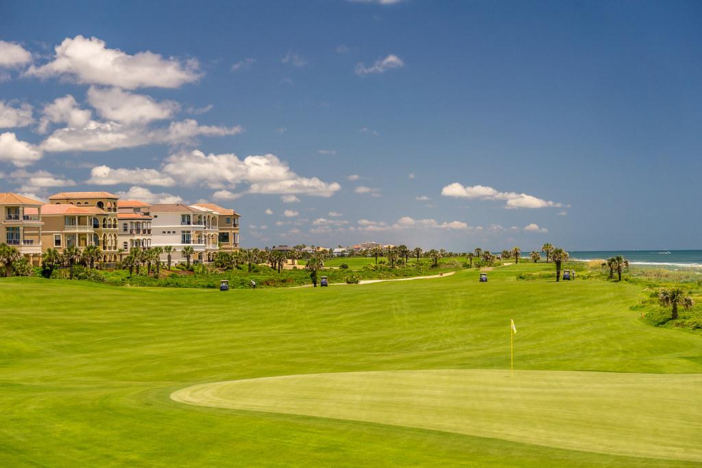 Golf course & Beach
