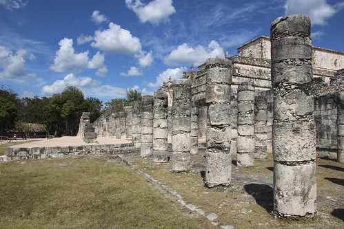 Framing of the Caracol (Snail),  Chichen Itza, Mexico's Yucatán Peninsula