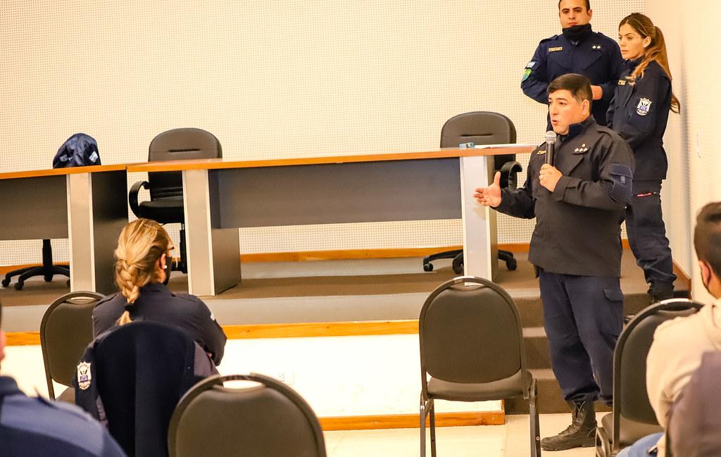 2020-07-03 Capacitación de la Policía Comunal en en Destacamento de Bomberos