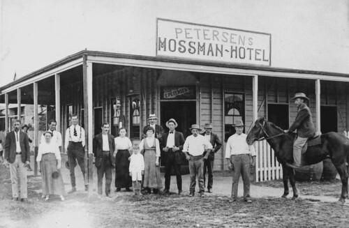 hotel pub queensland horse verandas fence advertising signs clothing groups tavern