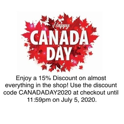 The Canada Day 2020 Sale runs until midnight Sunday, July 5, 2020 in almost everything!