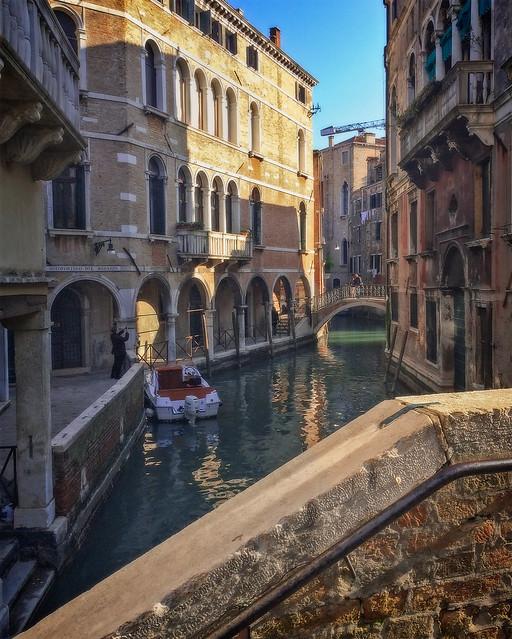 Bridges, passages, canals