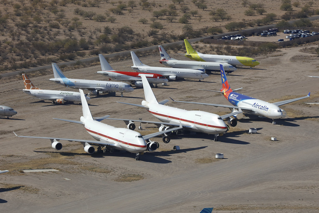 ex-JASDF Boeing 747-400s, Pinal Airpark - Arizona