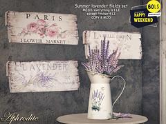 60L OFFER - Aphrodite lavender collection