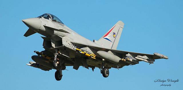 BAE Systems Eurofighter Typhoon IPA6 ZJ938