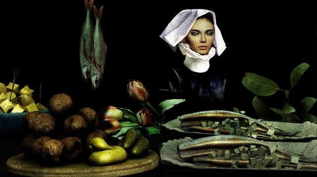 REMBRANDT!!!....enough with the painting...come on...I made snacks
