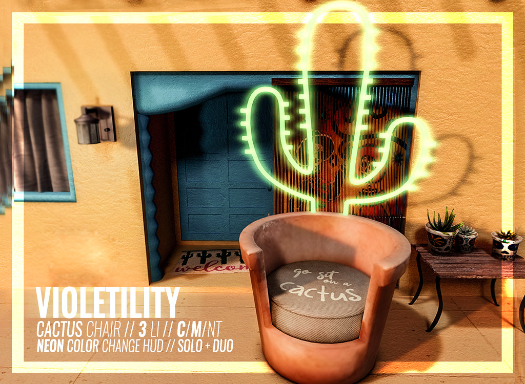 Violetility – Cactus Chair